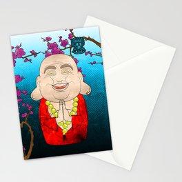 Smiling Buddha Matryoshka/Nesting Doll Stationery Cards