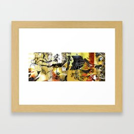 Exquisite Corpse: Round 1  Framed Art Print