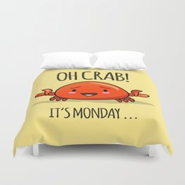 Crabby Day! Duvet Cover