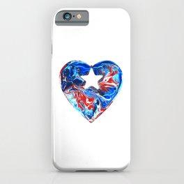 Puerto Rican Heart iPhone Case