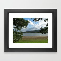 What a beautiful View. Framed Art Print
