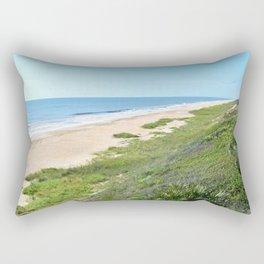 Beautiful Florida Coastline Rectangular Pillow