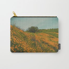 California Poppies 015 Carry-All Pouch