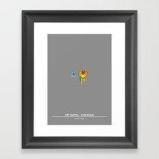 Enemies Framed Art Print