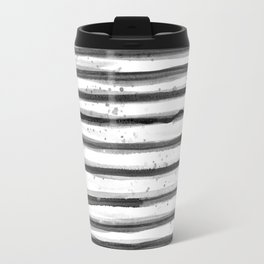 Zebra Swirl Stripe Travel Mug