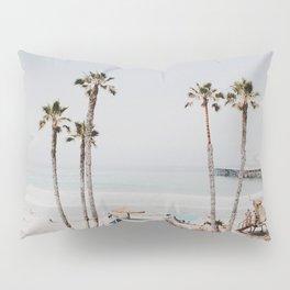 palm trees x / california Pillow Sham