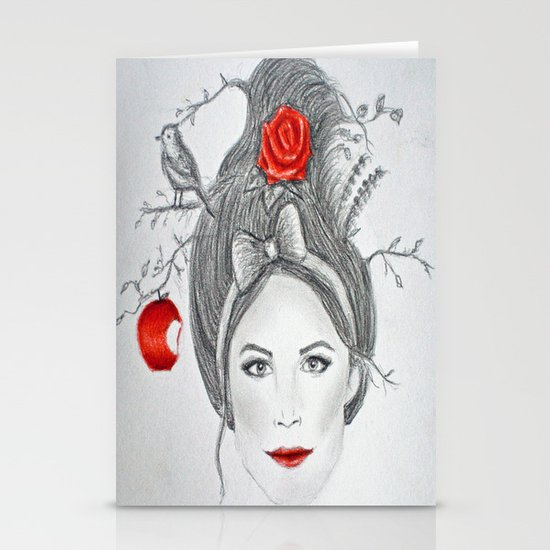 Snow White II Stationery Cards