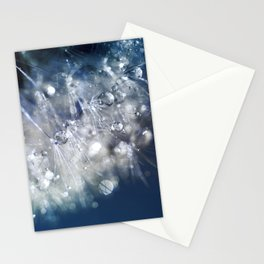 New Year's Blue Champagne Stationery Cards