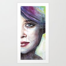 Beautiful Eyes Art Print