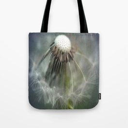 Half Dandelion Tote Bag