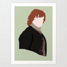 Jamie Fraser Art Print