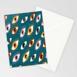 Eyes Limited Palette Pattern Stationery Cards