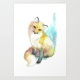 Little Foxy Art Print