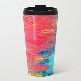 Turquoise Sunset Travel Mug