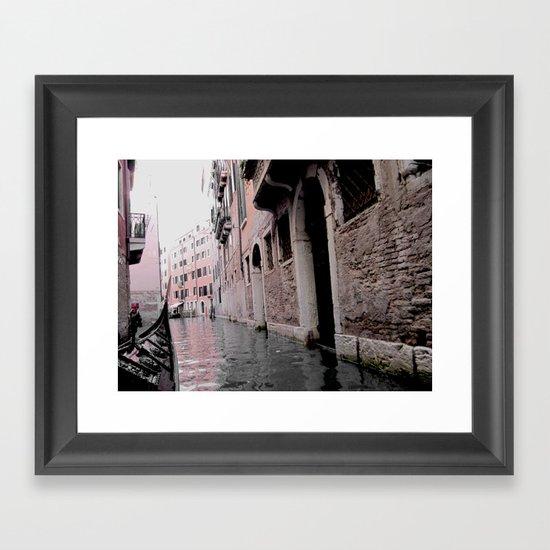 Memories from Venice Framed Art Print