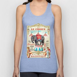 The Circus is in town Unisex Tank Top