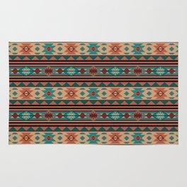 Southwest Design Turquoise Terracotta Rug