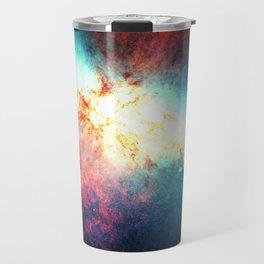 Colorful Galaxy: Messier M82 Travel Mug