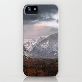 Tunnel View Yosemite iPhone Case