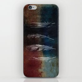 Rusty Feathers iPhone Skin