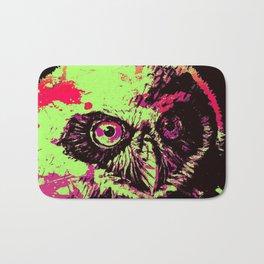Rainbow Spectacled Owl Bath Mat