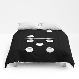 Black Domino / Domino Negro Comforters