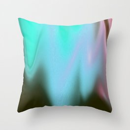Neon Slushie Throw Pillow