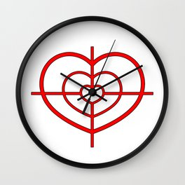 Heartscope Wall Clock