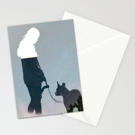 FRIENDSHIP in the space Stationery Cards