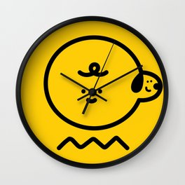 Charloopy Wall Clock