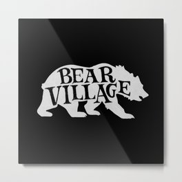 Bear Village - Polar Metal Print