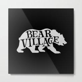 Bear Village - Polar Metal Print