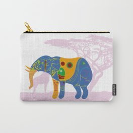 Africa's Rainbow Carry-All Pouch
