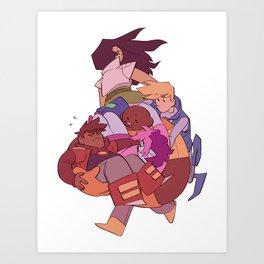 BW Art Print