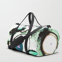 fluid abstract art c Duffle Bag