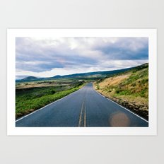 Open Road 1 Art Print