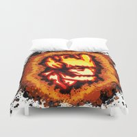 groot Duvet Covers featuring Groot  by grapeloverarts