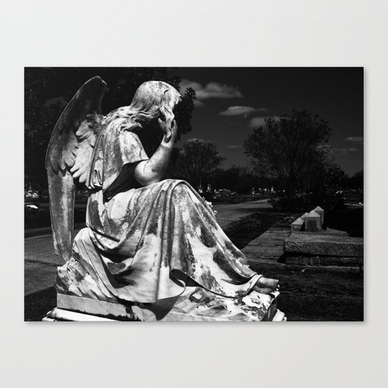 Carved Free Canvas Print