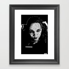Eyes That Charmed Framed Art Print
