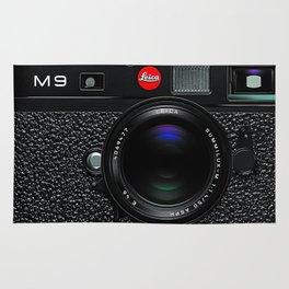Leica Camera M9 Black Rug