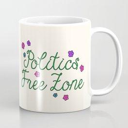 Politics Free Zone Coffee Mug