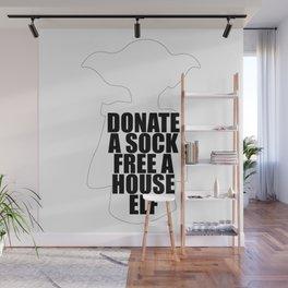 Donate A Sock Free A House Elf Wall Mural