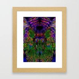 Inside the Painting Framed Art Print