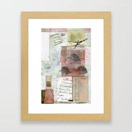 MORNING SONG Framed Art Print