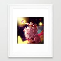 steven universe Framed Art Prints featuring Steven Universe  by shermstan