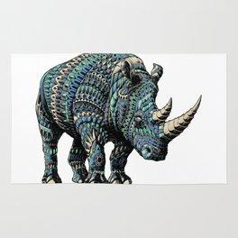 Rhinoceros (Color Version) Rug