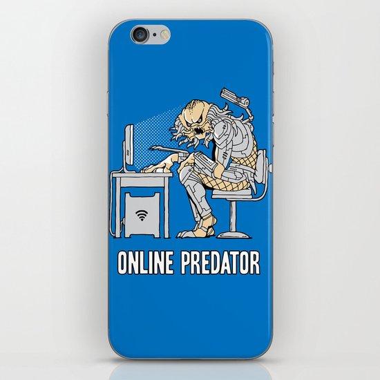 Online Predator iPhone & iPod Skin