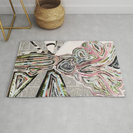Travel In Time Rug