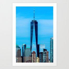 1 WTC Art Print
