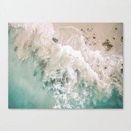 Frothy Fourth Beach Canvas Print